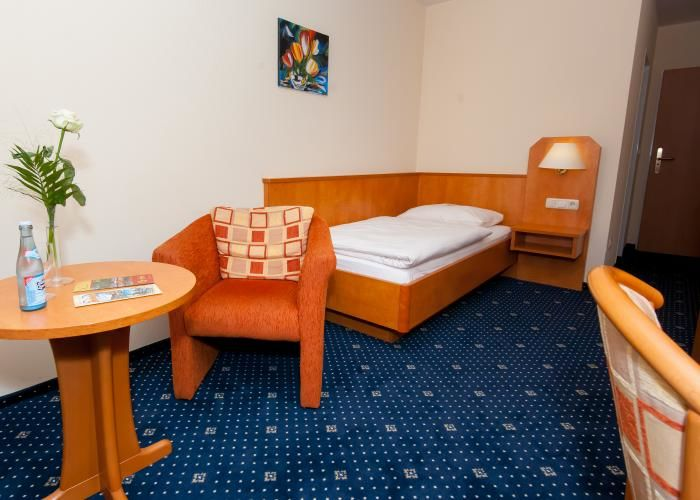 Beispiel: Hotelzimmer, Foto: Englischer Hof.