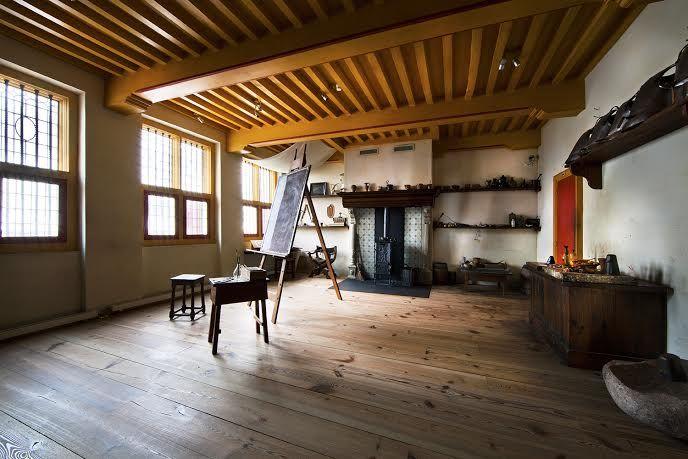 Het atelier van Rembrandt