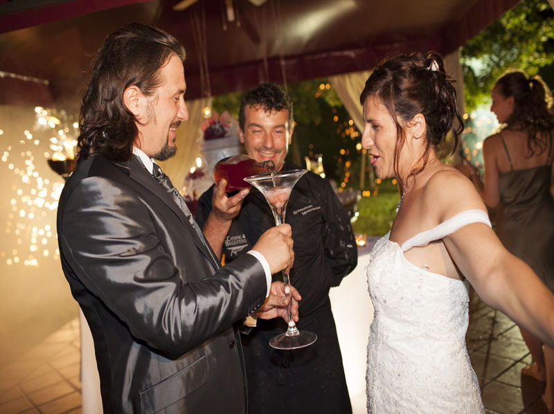 brindisi sposi - Villa Rosa