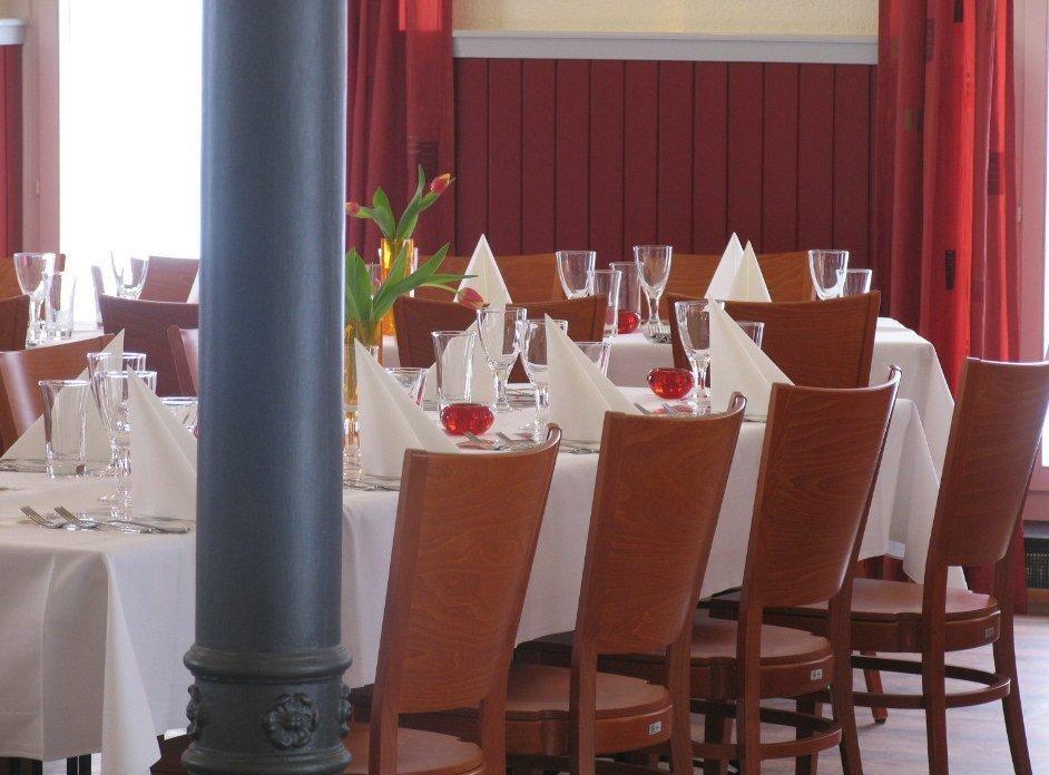 Beispiel: Tischdekoration, Foto: Engelberg.