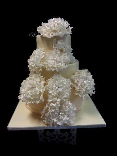 Wedding cake mariage russe