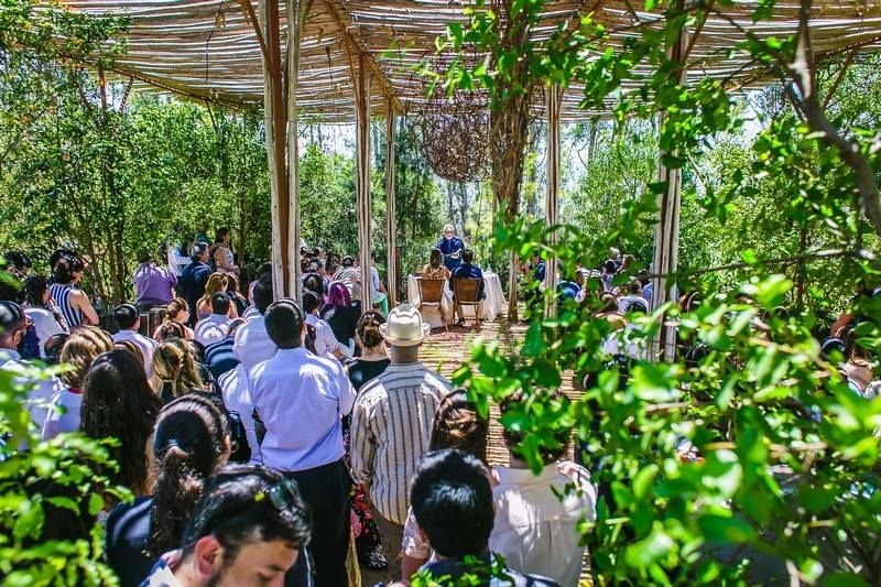 Ceremonia en La Arbequina Foto: Inspira Fotografía Documental