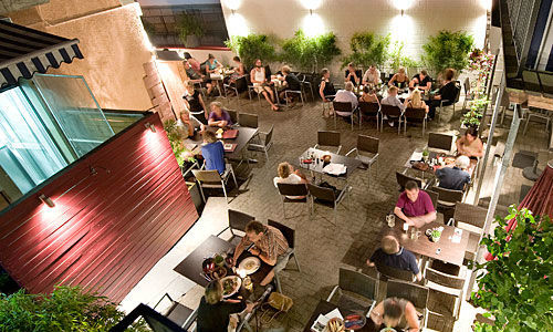 Beispiel: Terrasse - Vogelperspektive, Foto: Das Kartoffelhaus.