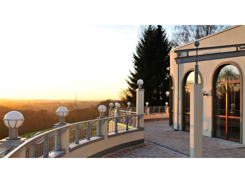 Beispiel: Terrasse, Foto: Borgböhmer's Waldesruh.