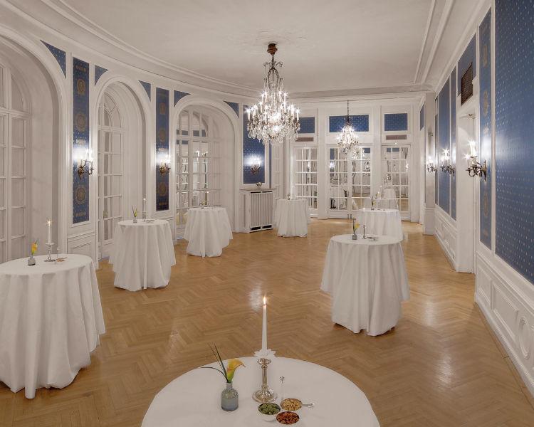 Beispiel: Blauer Saal, Foto: Hotel Atlantik Kempinski.