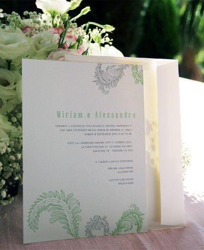 Invitación Plumas