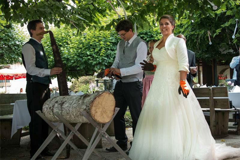 Beispiel: Brautpaar, Foto: eventt.