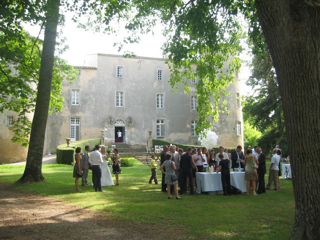 Château de la Commanderie Mariage façade nord