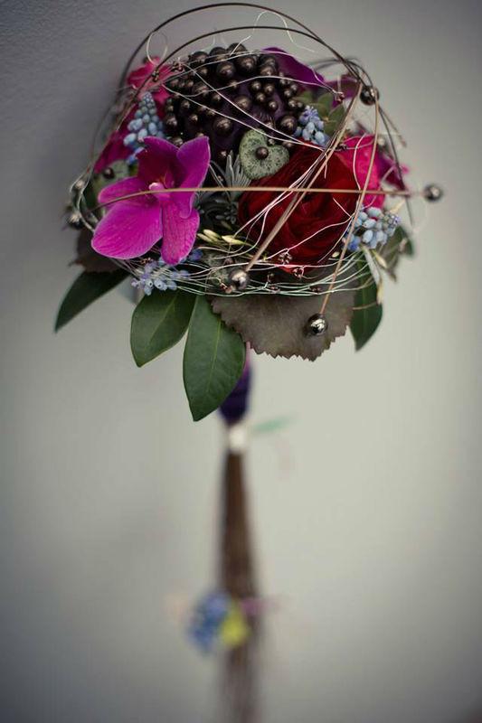 Beispiel: Brautstrauß, Foto: May Garden.