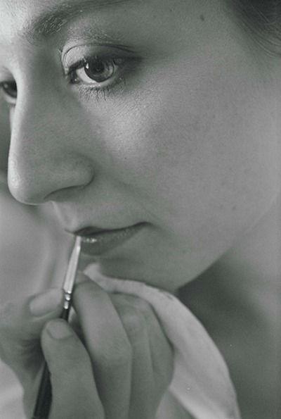 Beispiel: Make-up, Foto: Esther Behrendt.