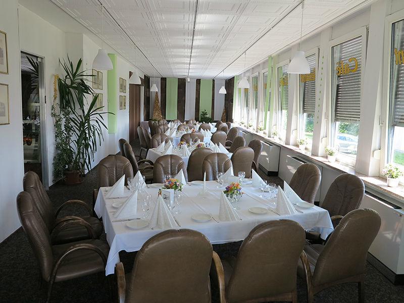 Beispiel: Innenraum - Bankett, Foto: Hotel Am Sonnenhang.