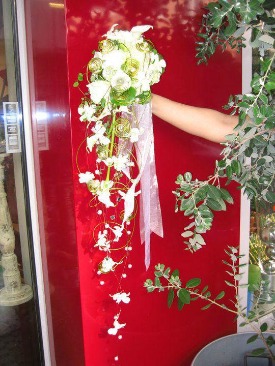 Beispiel: Brautstrauß, Foto: Blumen Kuhn Floraldesign.