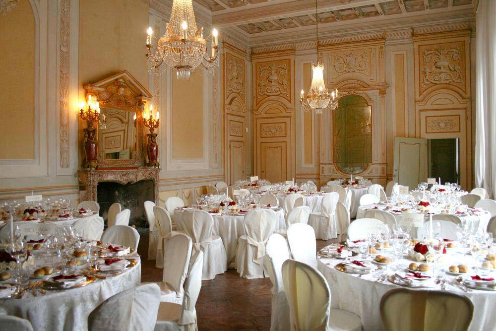 Salone allestito - Villa Gaia Gandini