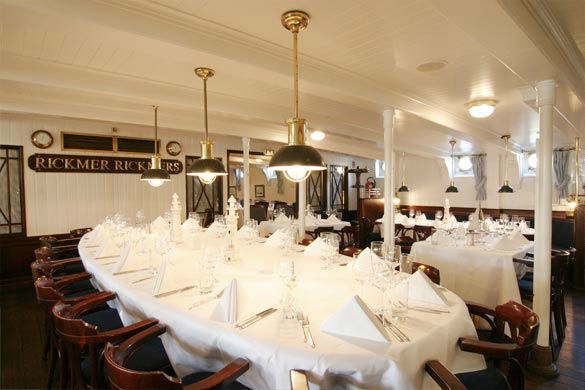 Beispiel: Restaurant - Bankett, Foto: Rickmer Rickmers Gastronomie.
