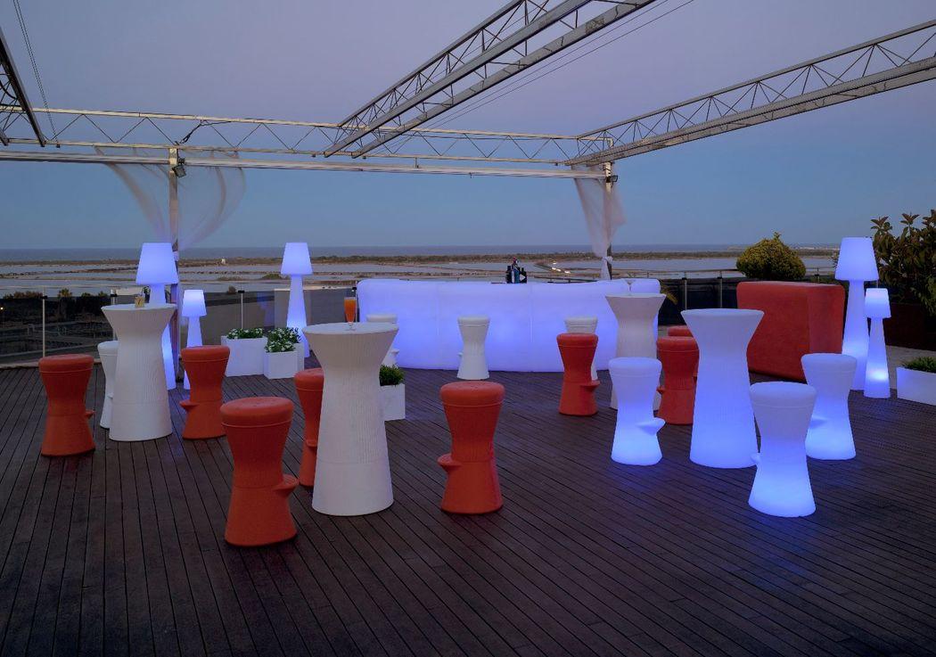 Muebles luz LED RGB