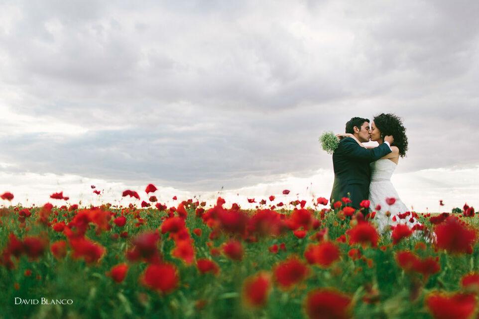 In love de las bodas en Primavera. Foto David Blanco