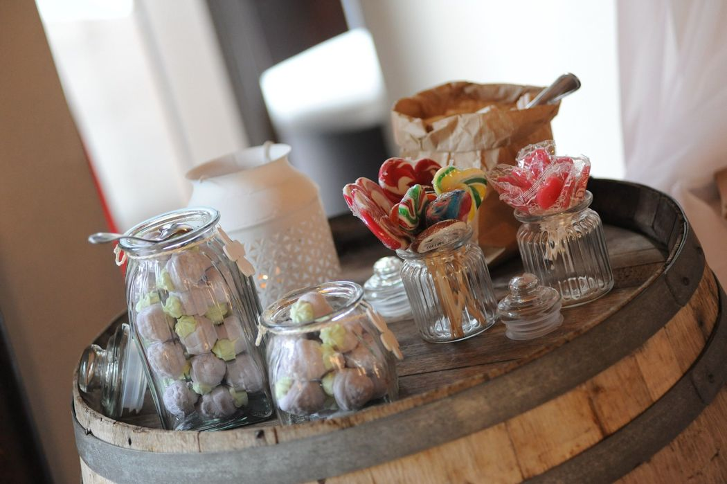 Candy bar country chic
