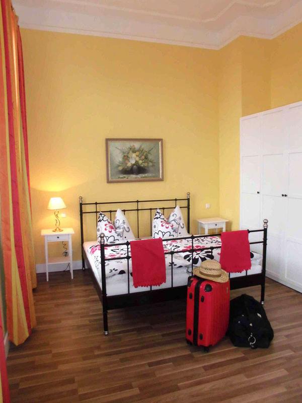 Beispiel: Hotelzimmer, Foto: Gut Gross Helle.