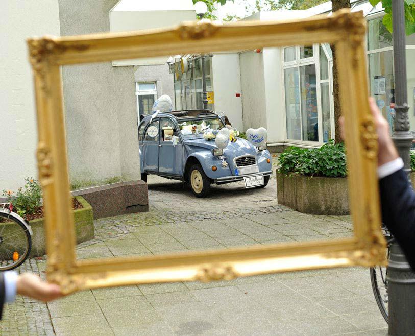 Beispiel: Hochzeitsente, Foto: Hochzeitstraum.