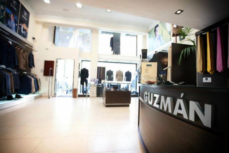 Trajes Guzmán tienda calle Serrano 2