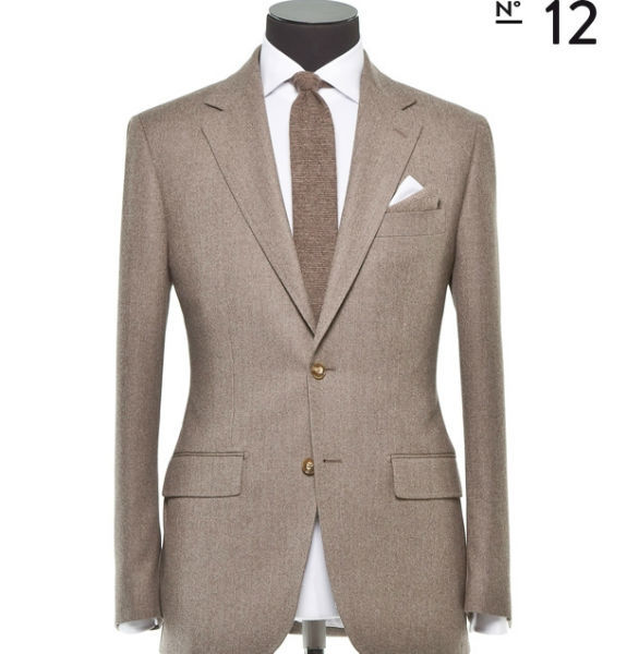 Beispiel: Herrenanzug, Foto: Alferano Männer Mode.