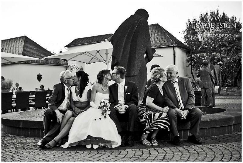 Beispiel: Gruppenfotos mit Witz und Gefühl, Foto: WW Fotodesign.