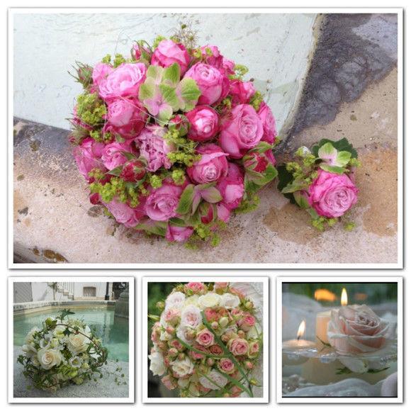 Beispiel: Blumendekoration, Foto: Quadriga Flora.