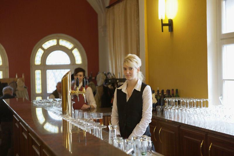 Beispiel: Freundlicher Service, Foto: Schloss Boitzenburg.
