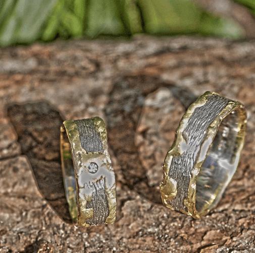 Beispiel: Ringe der Reihe Knusperringe, Foto: Das Schmuckwerk.