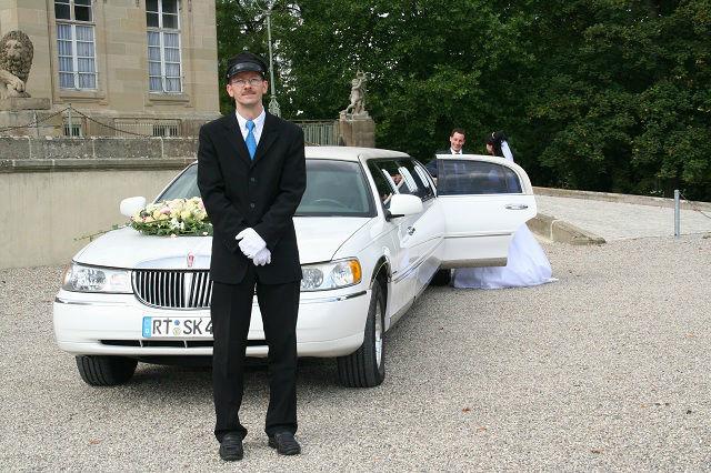 Beispiel: Ihr Hochzeitsservice, Foto: Stretchlimo Kristen.