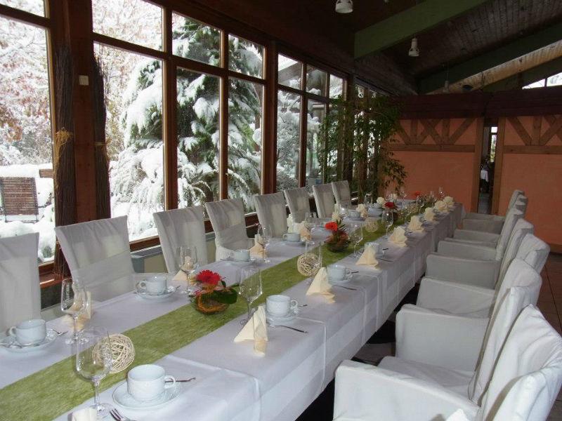 Beispiel: Hochzeitstafel, Foto: Hotel Bock.