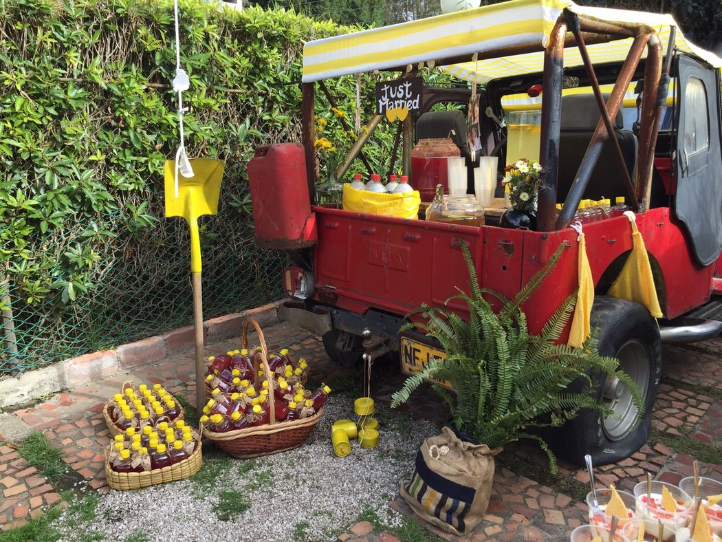 Carro de limonadas