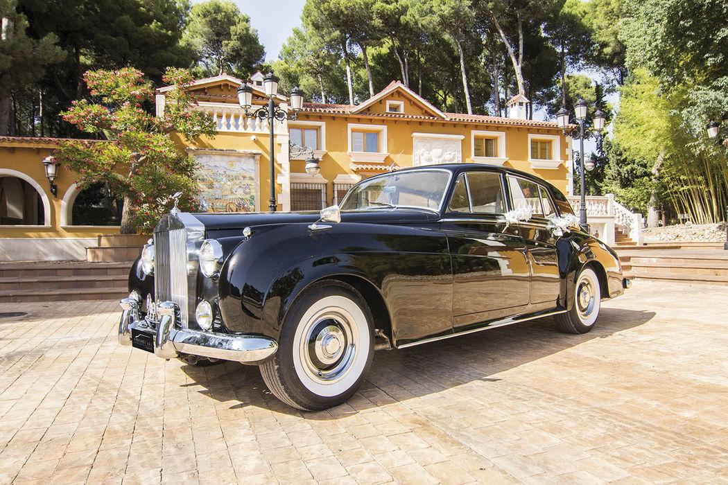 EX020 1961 Rolls Royce Silver Cloud Negro