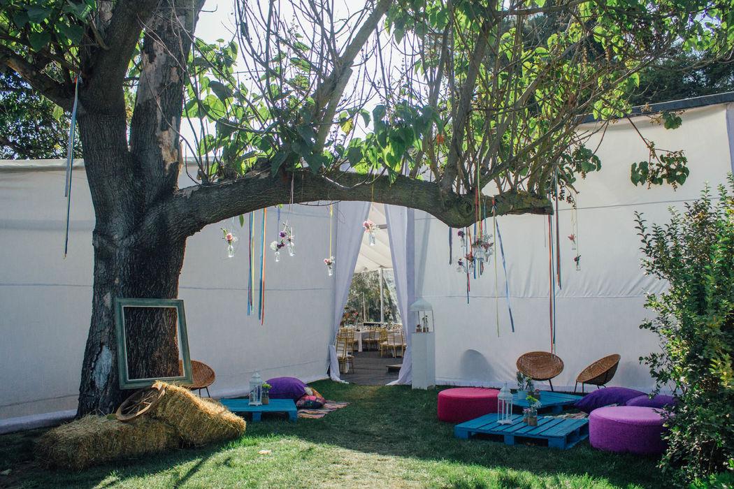 Lounge para fumadores
