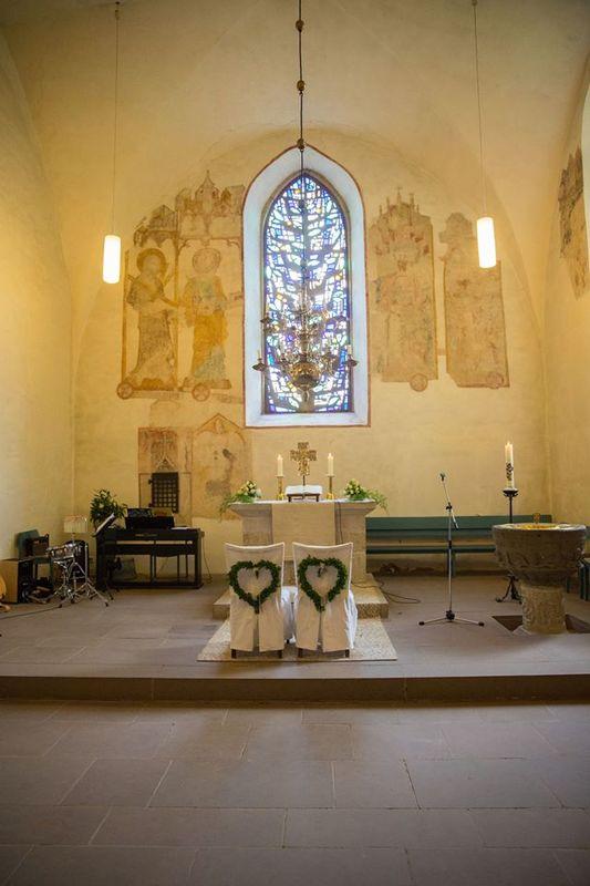 Beispiel: Kirchliche Trauung, Foto: JA - Der Hochzeitsplaner.