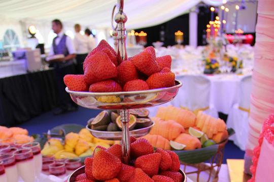 Beispiel: Früchtebuffet, Foto: Kuffler Catering.