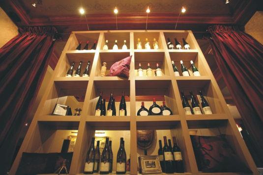 Beispiel: Weinauswahl, Foto: Geberts Weinstuben.