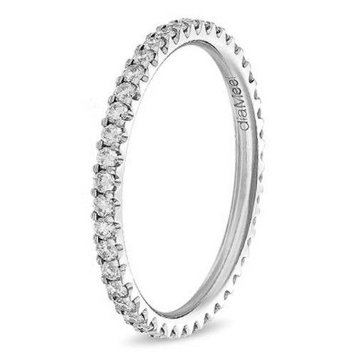 Alliance femme 2 griffes diamant Diamee