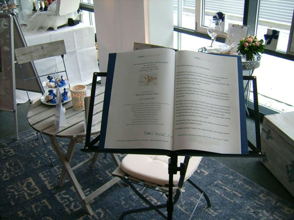 Beispiel: Die Hochzeitsrede, Foto: Rederei Kathrin Wenzel.