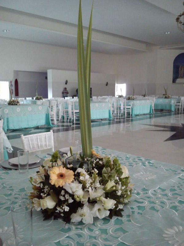 Florería Azul arte en su evento
