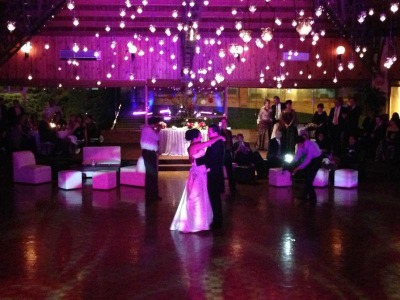 Iluminación de boda No Statics