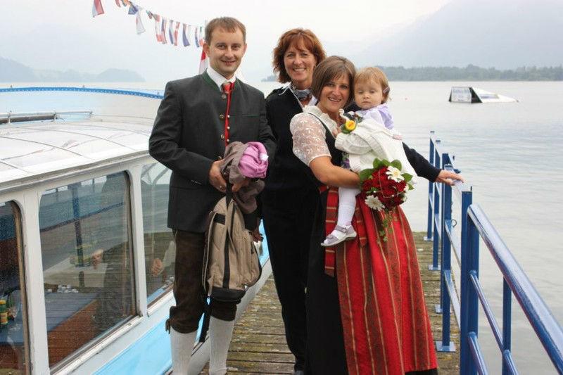 Beispiel: Ihre Hochzeit auf einem Schiff, Foto: Mondsee Schifffahrt.