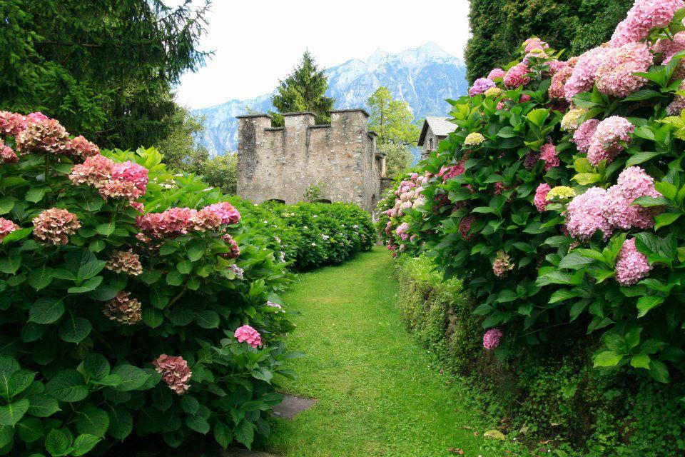 Castel Ivano, il fossato di entrata