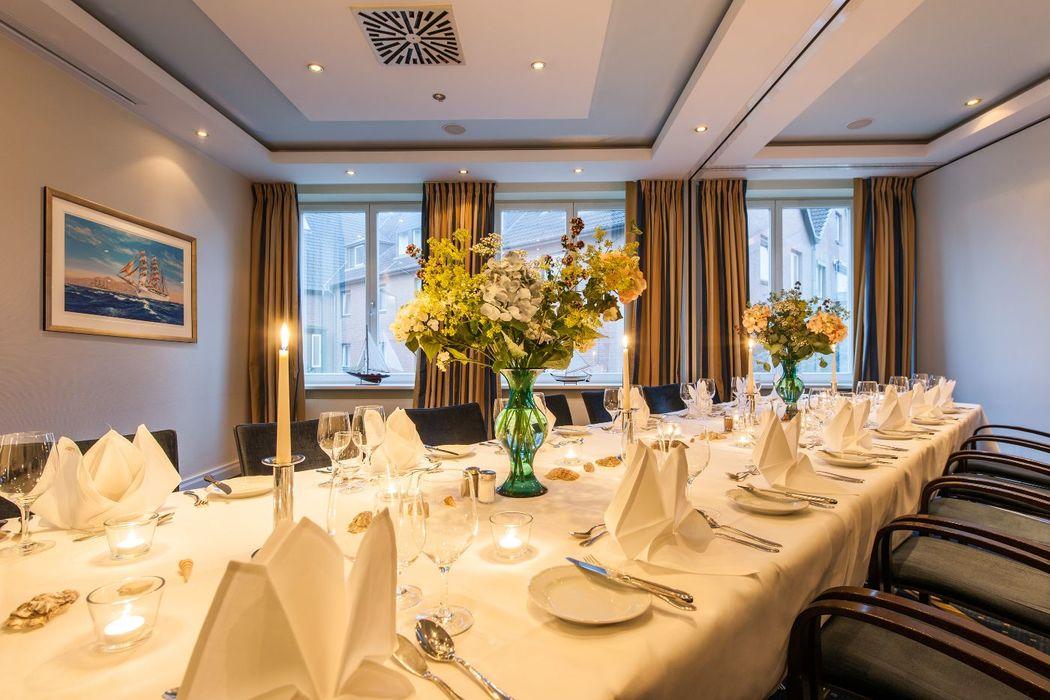 Beispiel: Bankett im Birke Business Center, Foto: Hotel Birke