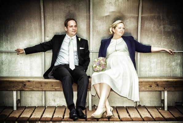 Beispiel: Kreative Hochzeitsfotos, Foto: Chris Yeo Photography.