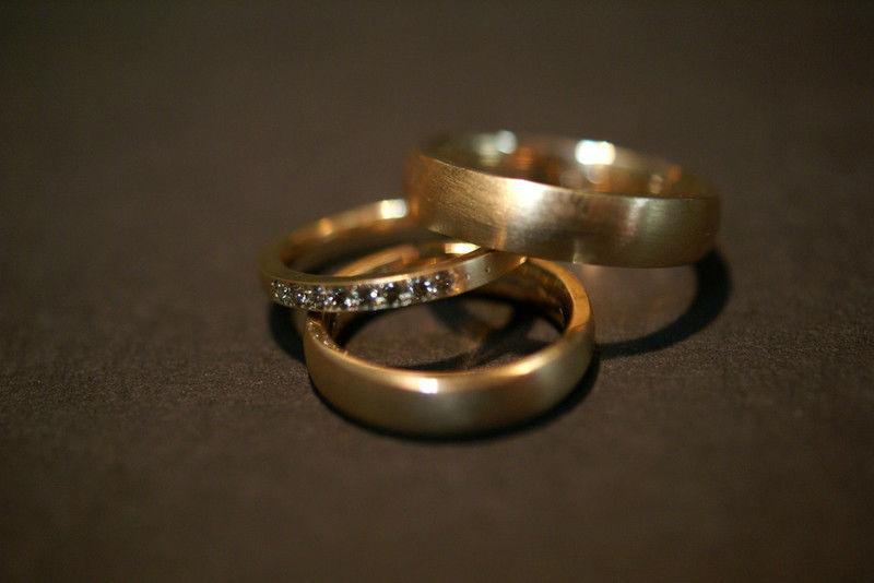 Beispiel: Die Ringe für Ihr ganzes Leben, Foto: Goldschmiede Piechula.