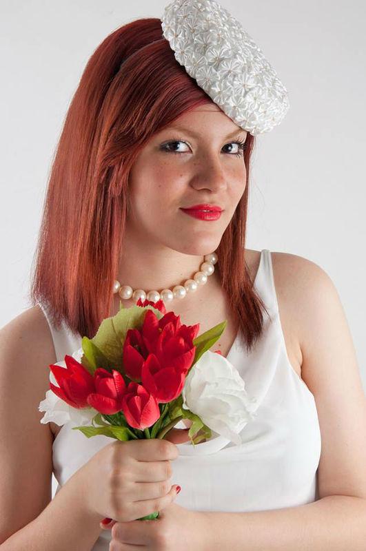 Ana Epifani casquetes e voilletes