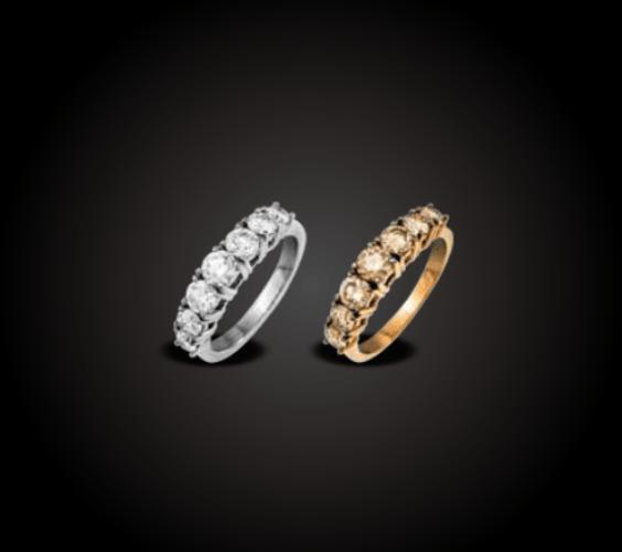 Beispiel: Individuelle Eheringe, Foto: Juweliere Ellert.