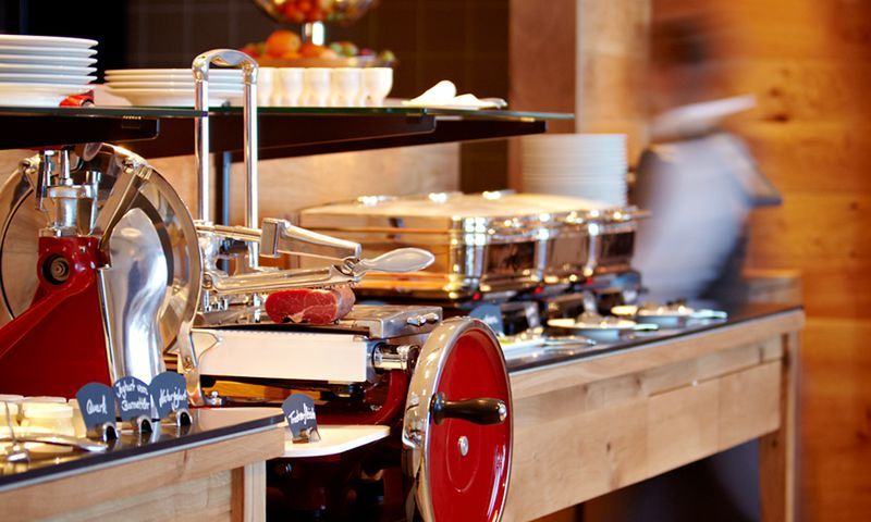 Beispiel: Buffet-Ideen, Foto: Hotel frutt LODGE & SPA.