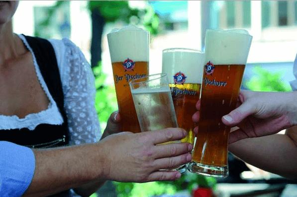 Beispiel: Bier, Foto: Der Pschorr.